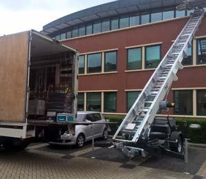verhuiswagen met lift Oostham